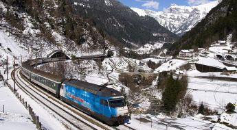 Die SRG als Lokomotive der Schweizer Medienlandschaft? Foto: CC BY-SA 3.0 Commons Wikipedia / Kabelleger.