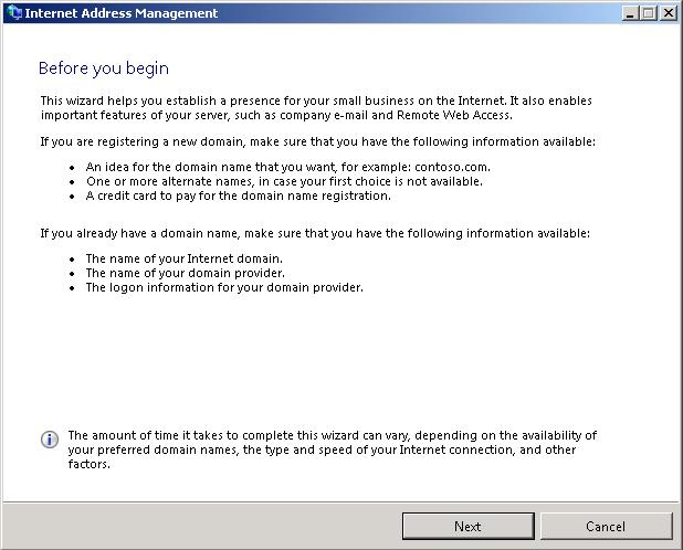 Windows Small Business Server 2011 installation and configuration