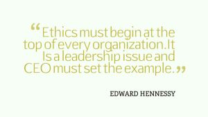 Ethics must