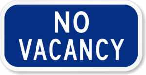 No-Vacancy-Sign