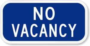 No-Vacancy-Sign