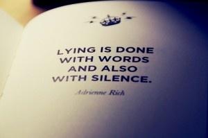 types of lies