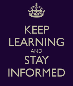 keep-learning-and-stay-informed