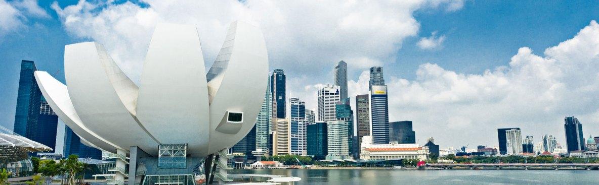 The Singapore ArtScience Museum (photo: Marina Bay Sands)