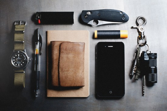 EDC Items Style in what you carry, not just what you wear
