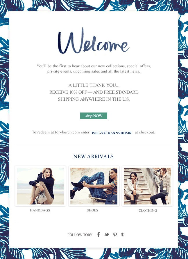 6 Examples of the Most Successful Welcome Messages Marketing