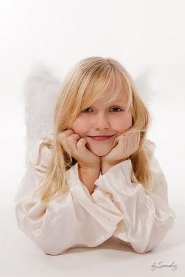 Ein kleiner Engel zu Besuch