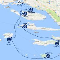 Croisière de rêve : les îles de Croatie en 7 jours