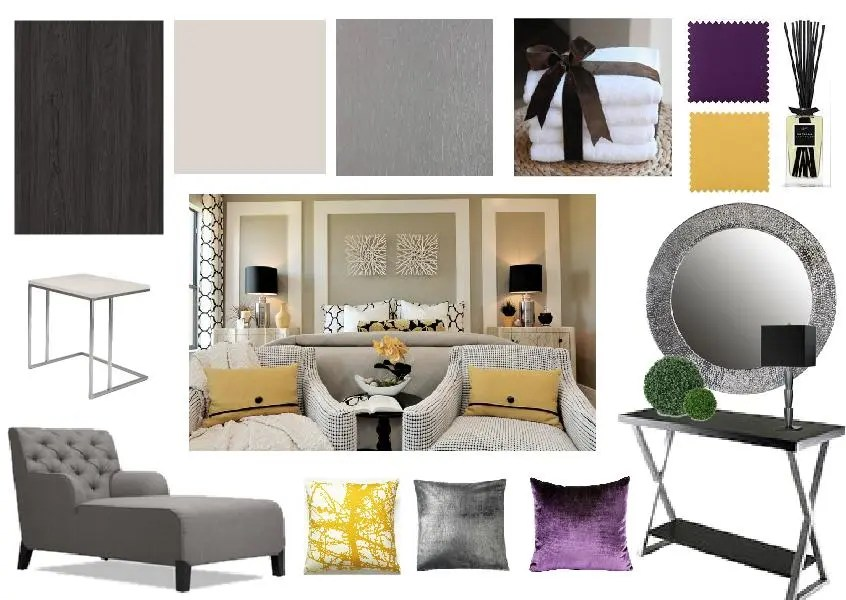 Interior design mood board created on www.sampleboard.com