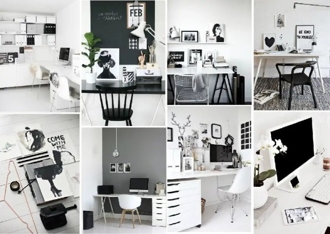 home office organization mood board created on www.sampleboard.com