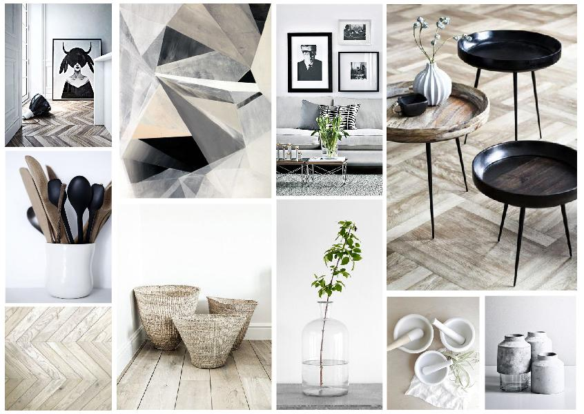 TIPS FOR A MINIMALIST LIVING ROOM MOOD BOARD CREATED ON www.sampleboard.com