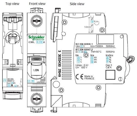 contactor diagram symbol