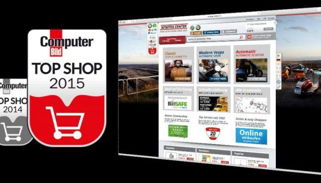 Top Shop 2015 Scooter Center bester Rollershop im Test