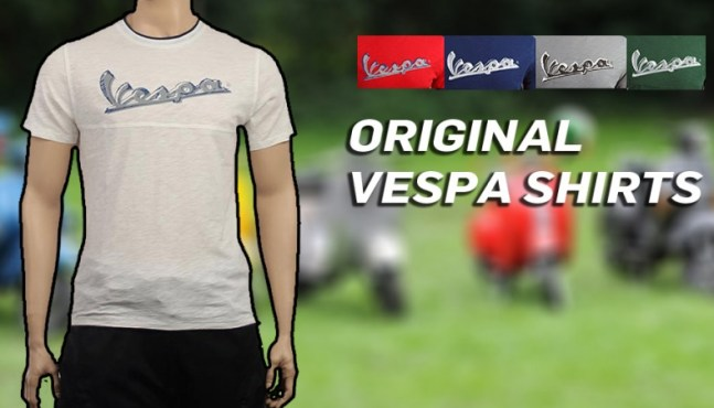 Original Vespa T-Shirt super günstig