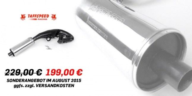 Vespa Rennauspuff Auspuff TAFFSPEED MK4