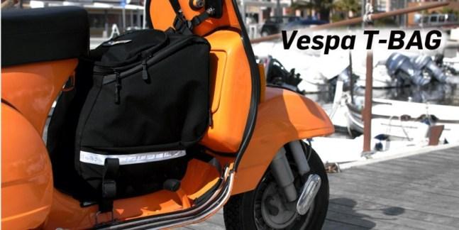 Vespa T-Bag – die Reisetasche für Vespa PX
