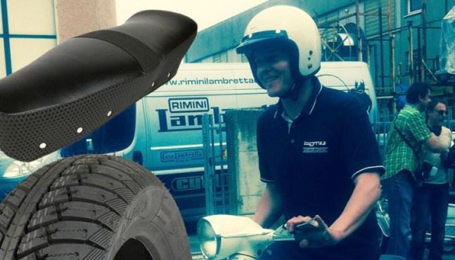 Rollerfahrer Geschenkidee – Lambretta Teile