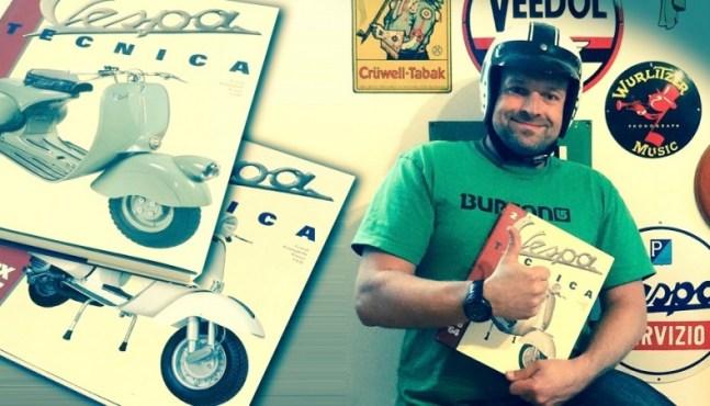 Rollerfahrer Geschenkidee – Vespa Tecnica