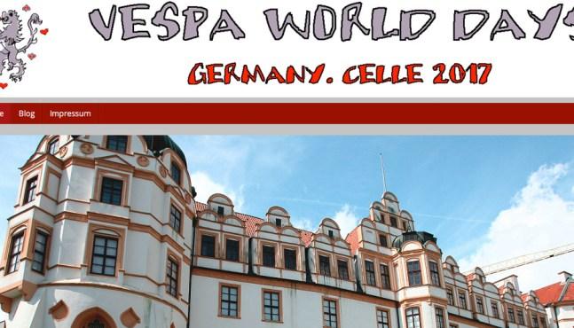 VWD 2017 – Vespa World Days 2017 Website online