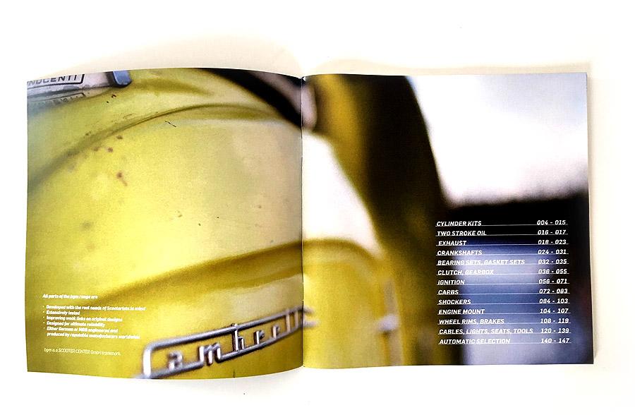 Lambretta Vespa Katalog bgm 2016