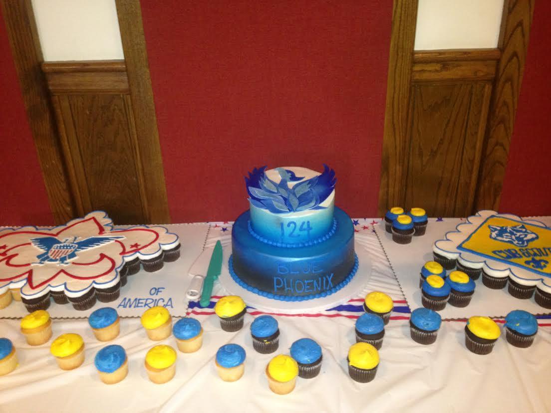 20 Blue Phoenix Cake (2)