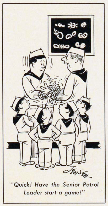Cartoon-1964-In-Knots