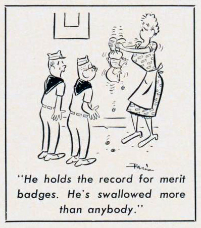 Cartoon-1964-Merit-Badges