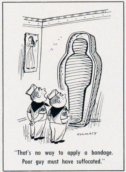 Cartoon-1966-Bandage