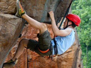 scout-climbing-at-jamboree