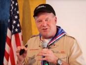 Lee-Berger-at-2013-jamboree