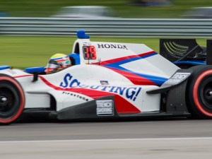 Scouting car in the 2016 Indy 500