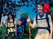 Venturers-hiking-a-trail
