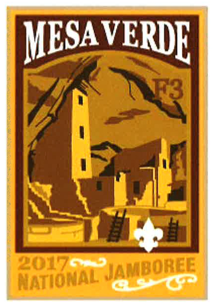 Mesa Verde 2017 Jamboree subcamp patch