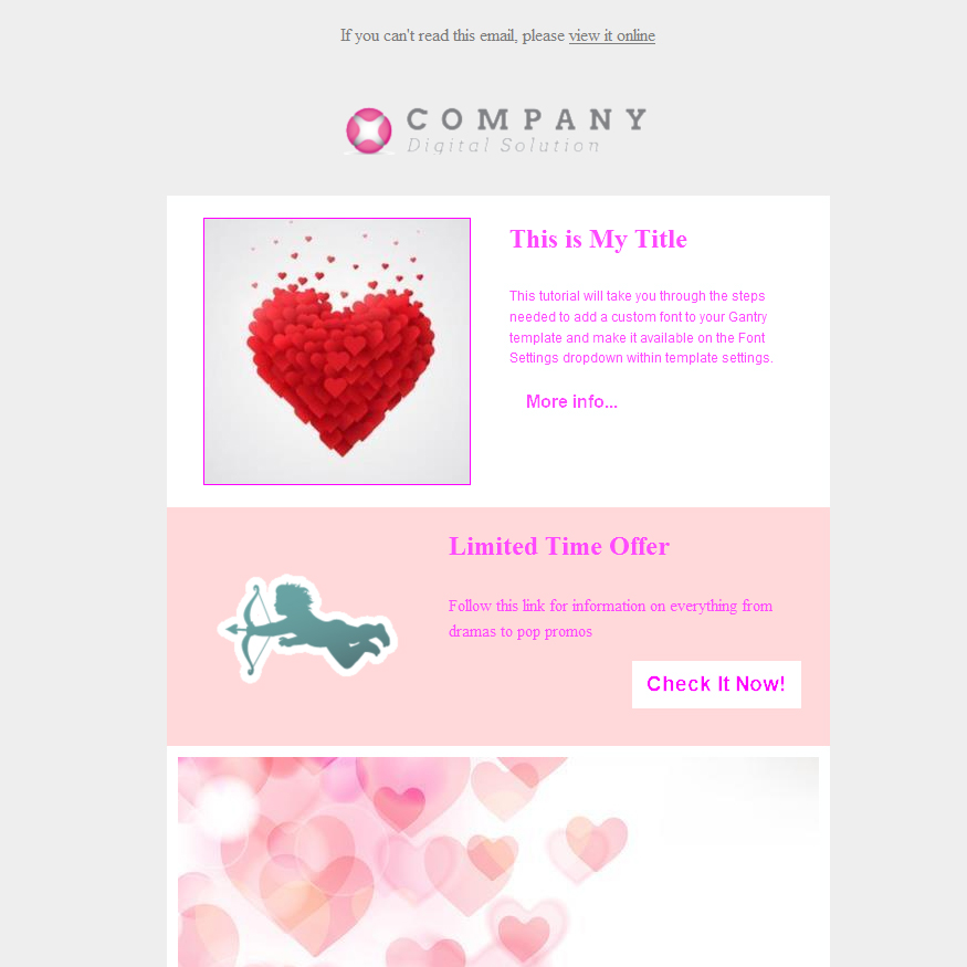 18 (+13) Free Valentine\u0027s Day Email Templates