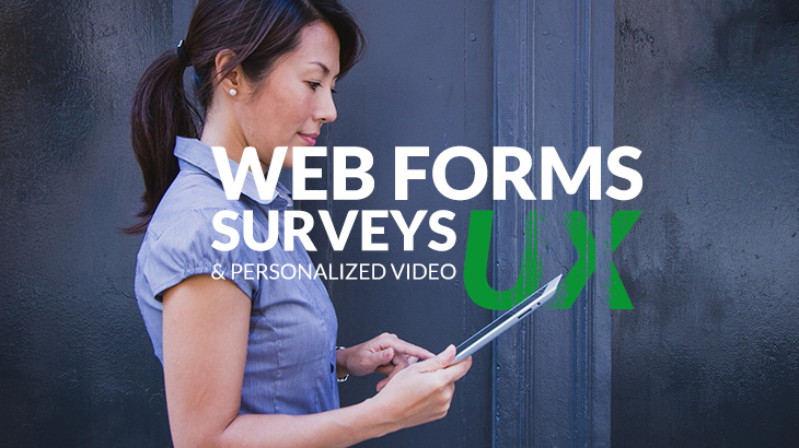 Typeform Web forms and surveys user experience and personalized video with Sezion