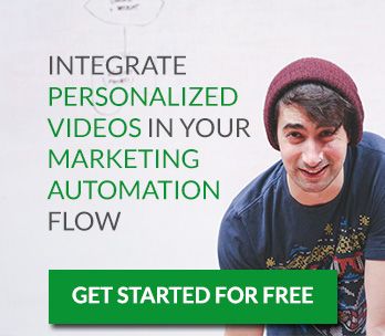 Integrate Personalized Videos in Your Marketing Automation Flow