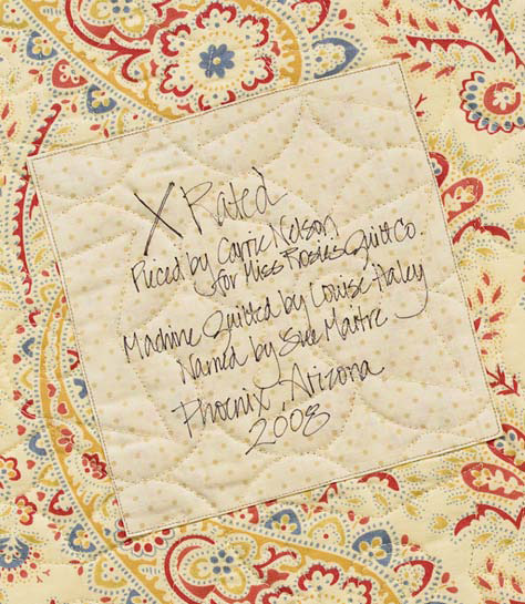 How to label a quilt 7 ideas from popular authors - Stitch This