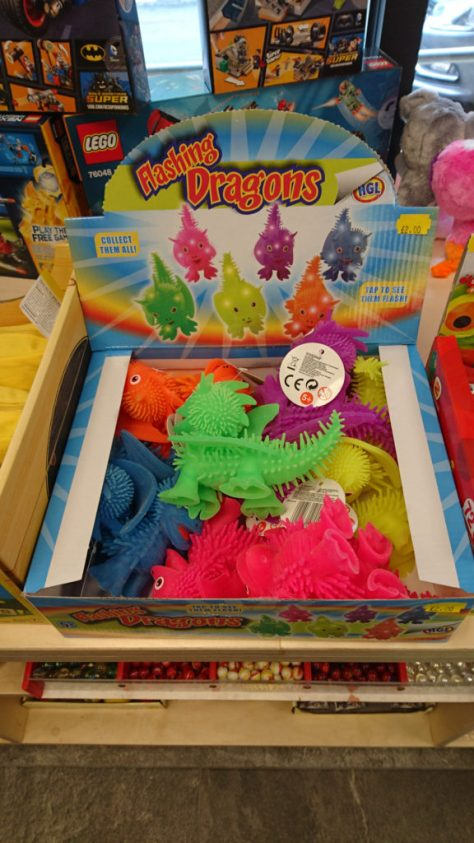 Flashing Dragons Silly Billy's Bargains
