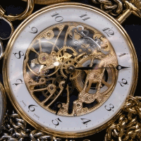 Watch representing time-based animation.