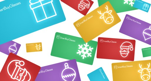 SmartBuyGlasses Gift Card – Just in Time for Christmas