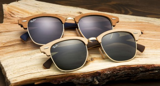The Ray-Ban Clubmaster Wood Collection