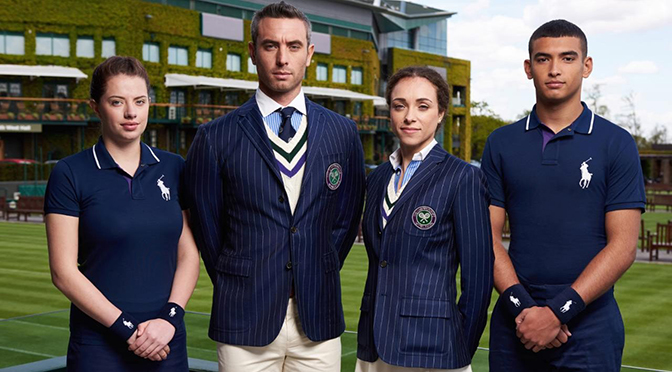 Wimbledon Umpires wearing Ralph Lauren Polo Collection