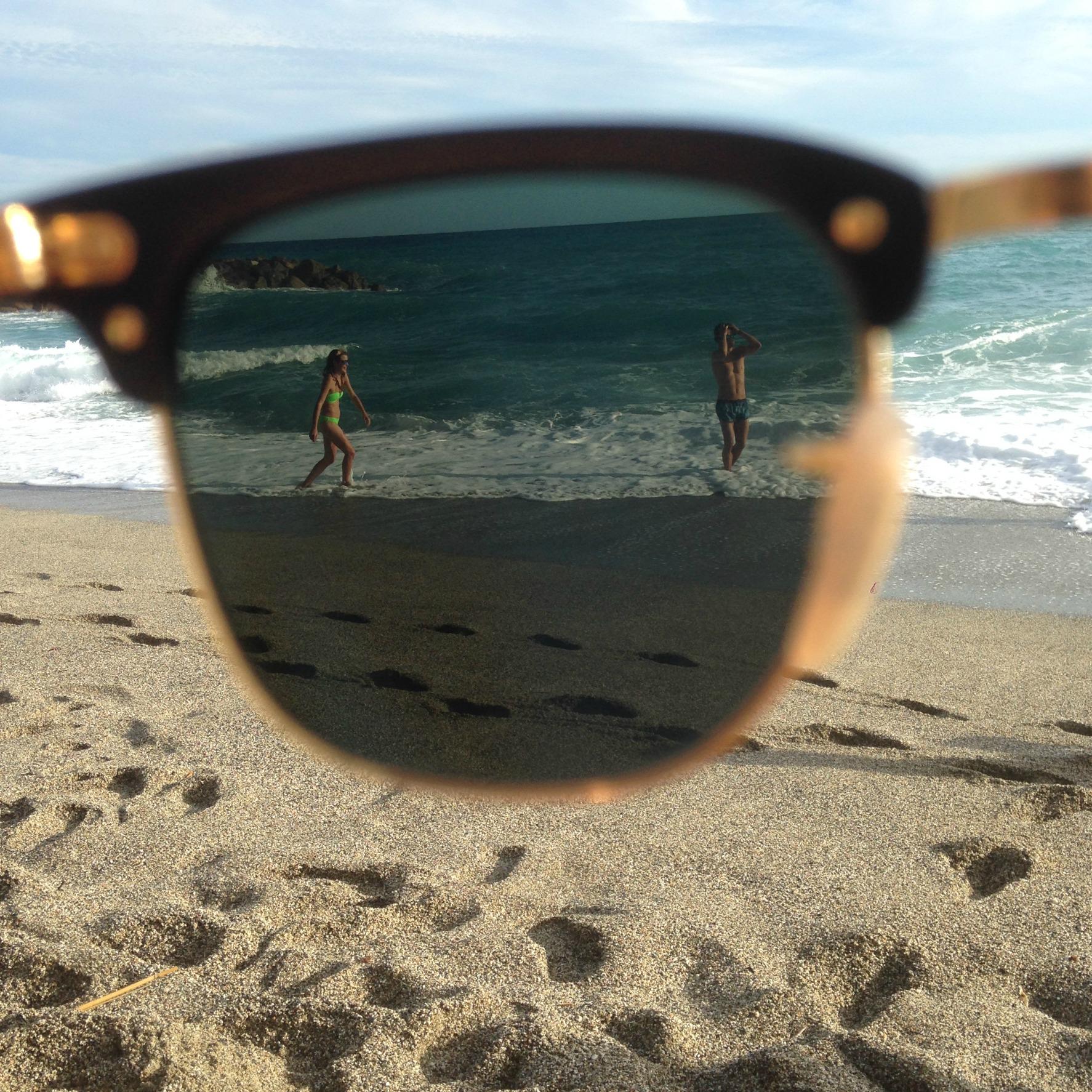 Sunglasses beach picmonkey