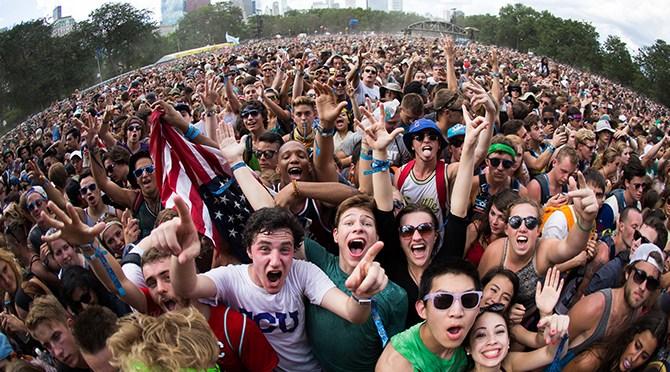 Lollapalooza Turns 25