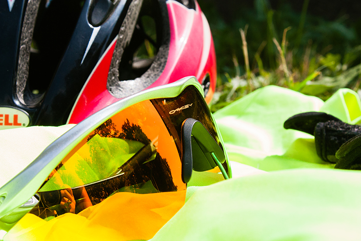 Sunglasses with polycarbonate lenses are shatter resistant.