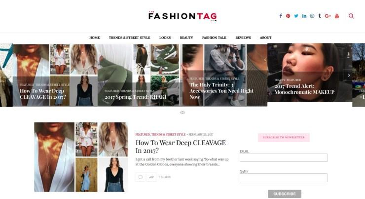 the fashion tag