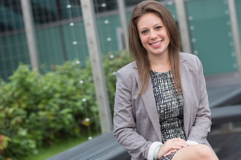 Ariel Resnikoff, current full-time SMU MBA student