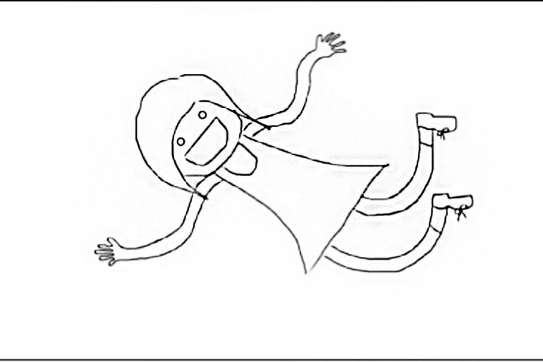 Illustration of me year 1 of SMU SOSS.