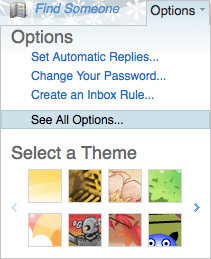 Webmail See All Options