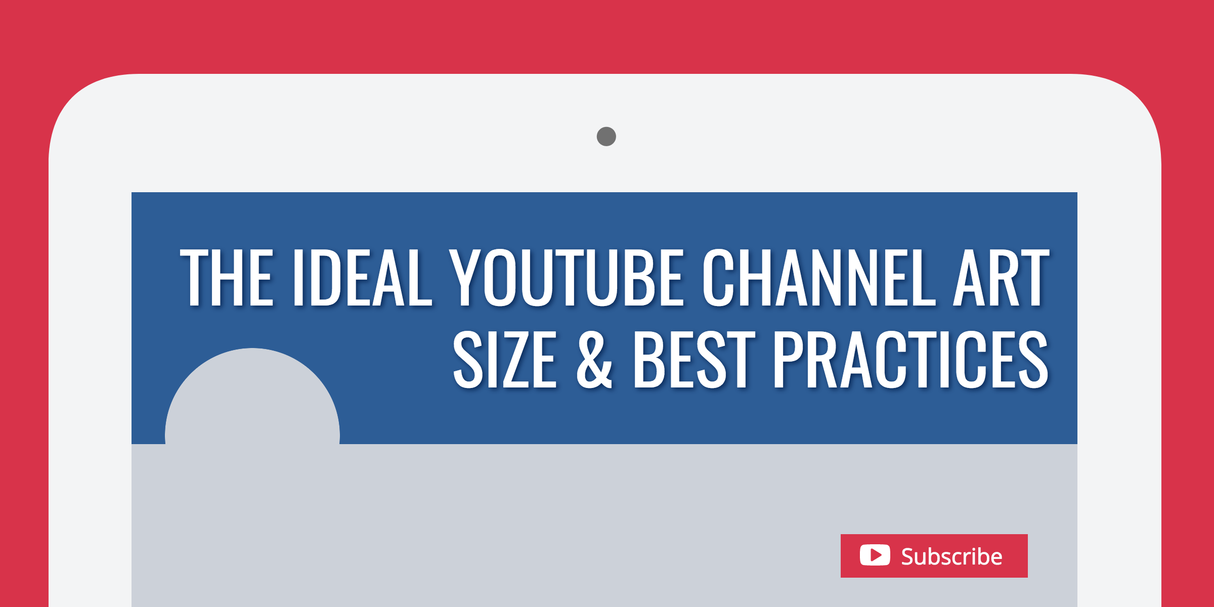Bad Design Youtube The Ideal Youtube Channel Art Size Best Practices